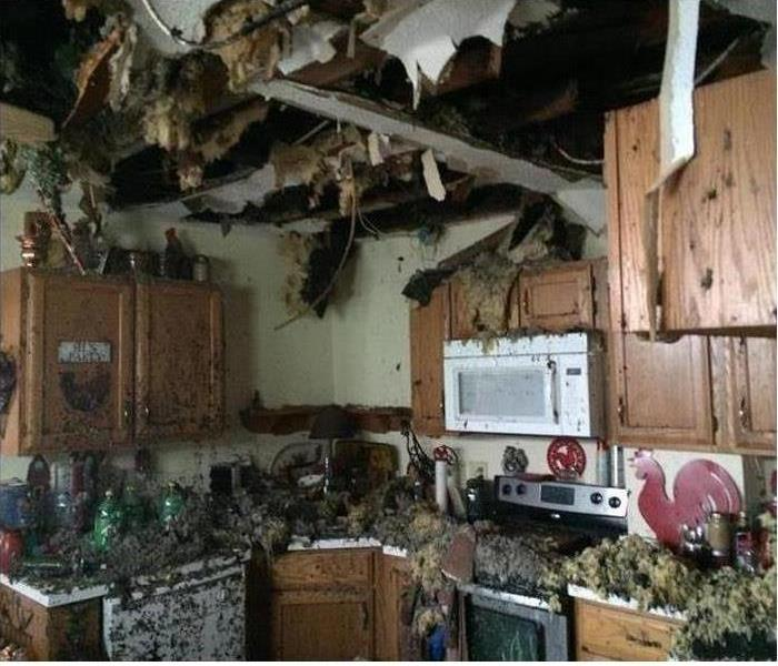 Fire Damage in Mansfield, OH
