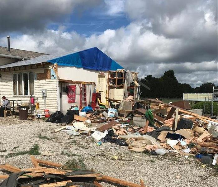 Labor Day tornado in Crawford and Richland County