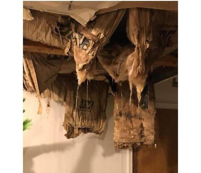 Water Damage in a Richland County Ohio Home