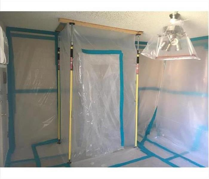 Mold Remediation to a Commercial Building