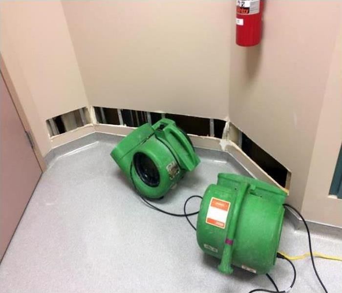Commercial Water Damage At A South Richland County, Ohio Medical Facility
