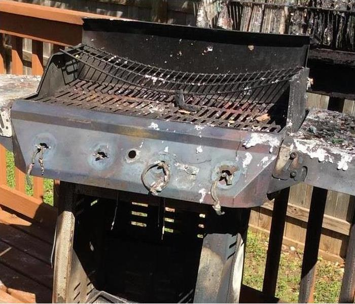 Fire Damage Grill Fire Danger and How to Prevent It